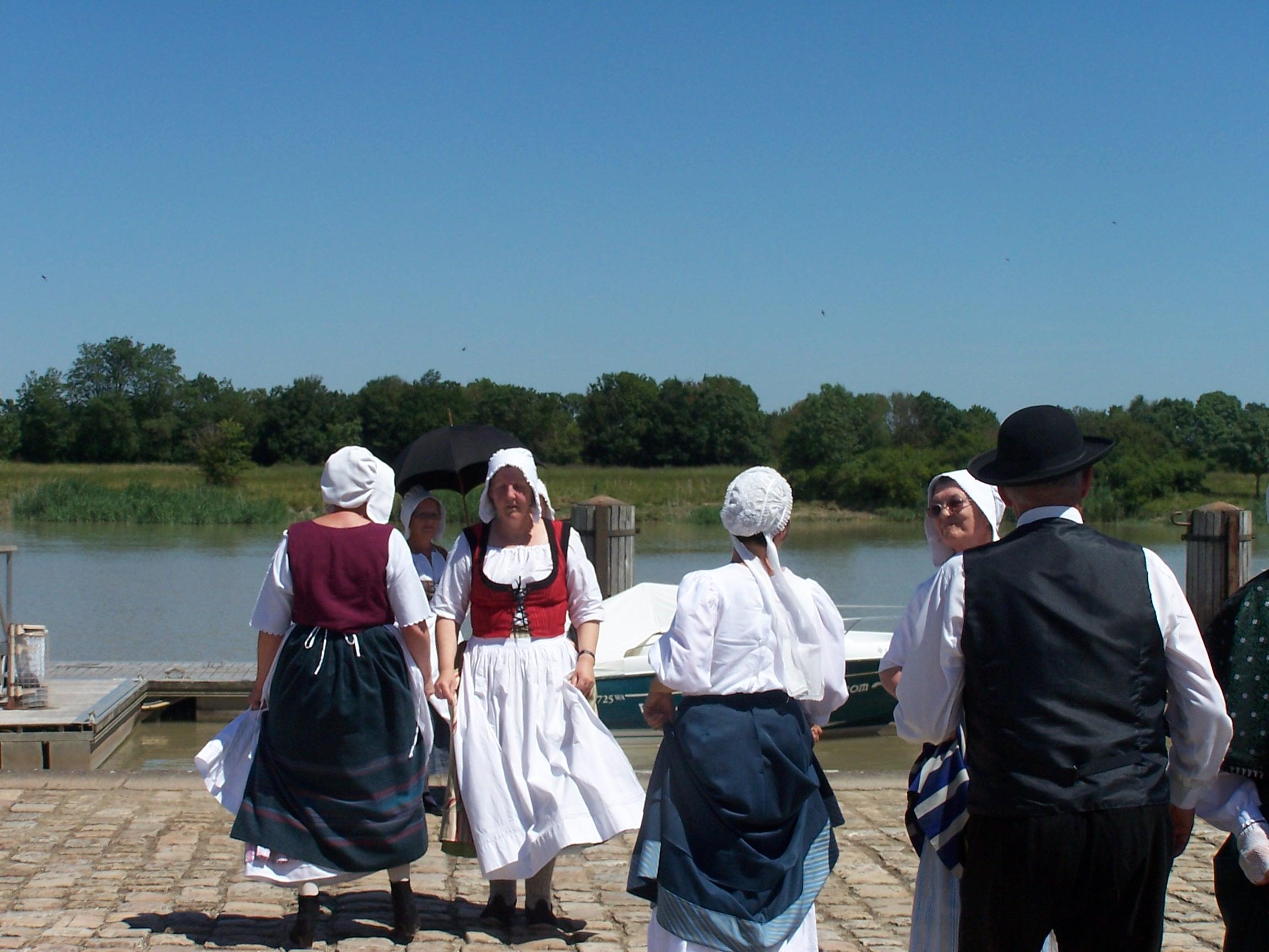 Les Martrêches Tholusiennes Le Thou La Corderie Royale Rochefort juin 2005