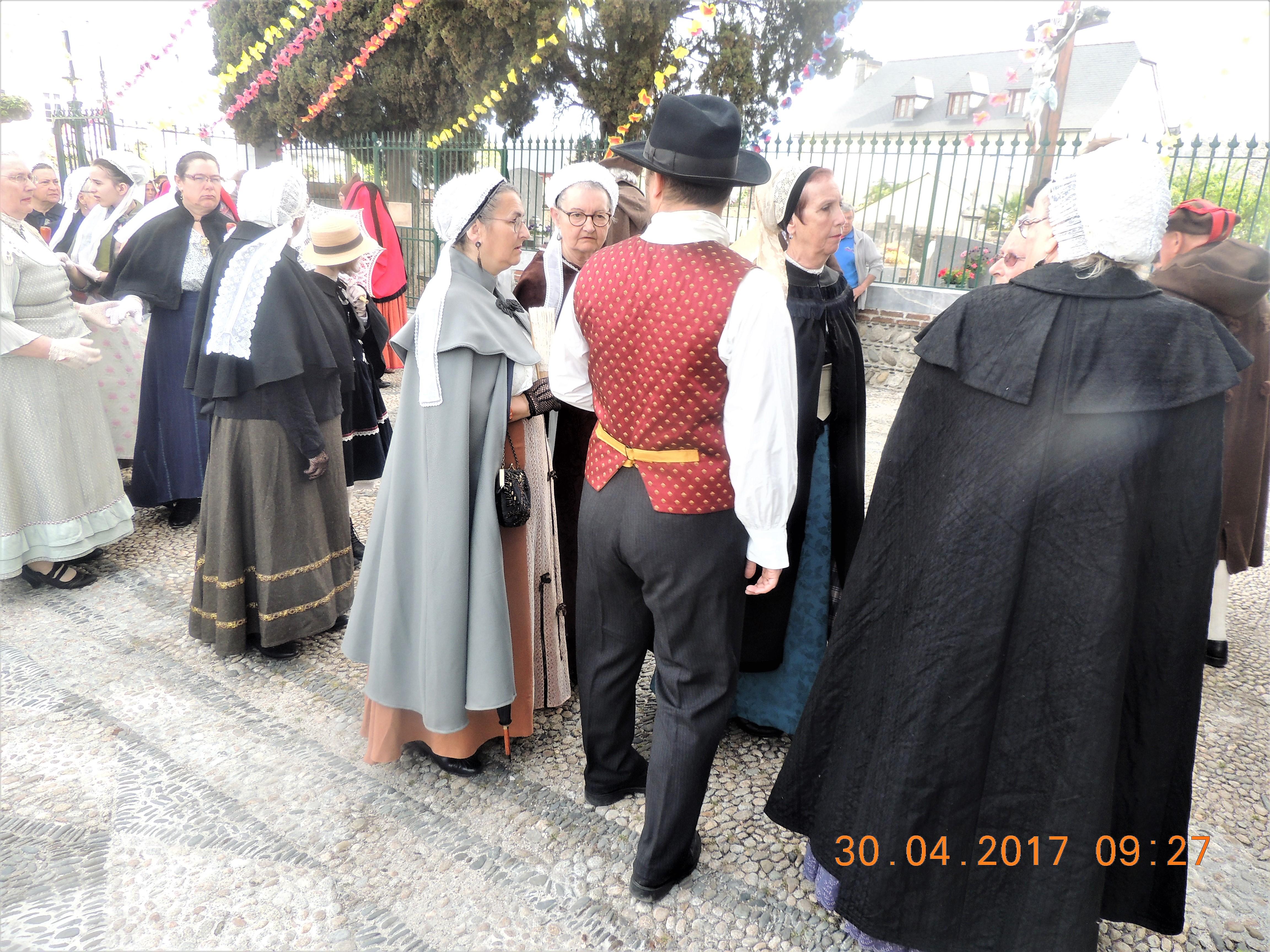 Les Martrêches Tholusiennes au Thou Rencontre groupe ETHS ESCLOPS Avril 2017