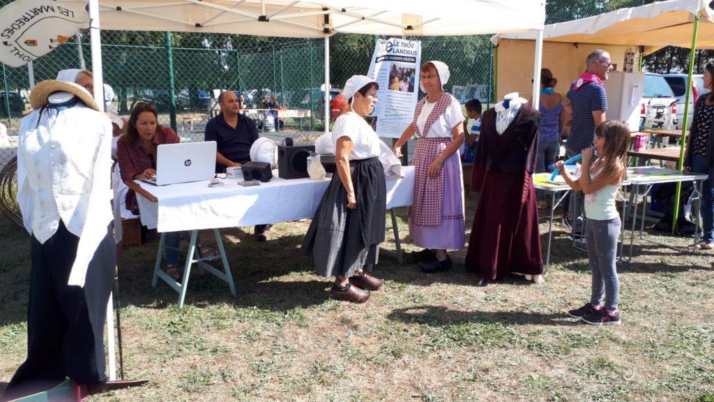 forum des associations au Thou le 07 septembre 2019